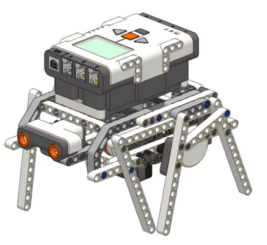 Инструкция по сборке  «Шагающего робота»