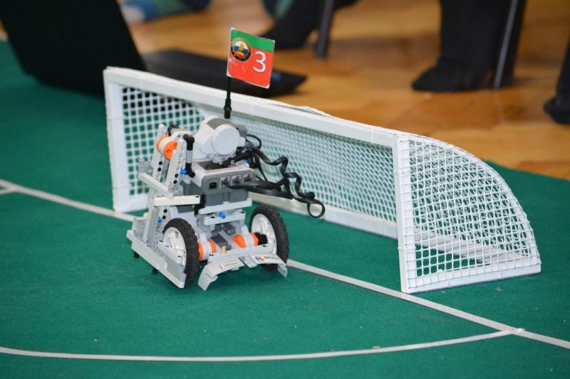 Состязания по робототехнике Центрального района г. Санкт-Петербурга