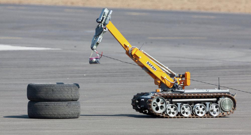 В России создадут робота-сапера в помощь военным в городских боях